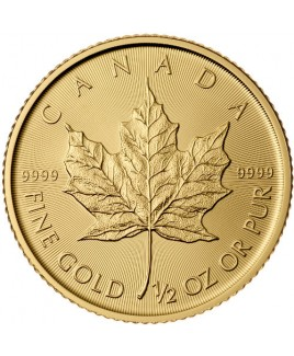 Maple Leaf 1/2 oz Gold Coin