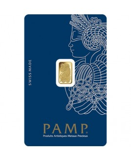 Pamp Suisse Veriscan Fortuna 1 gram Gold Bar