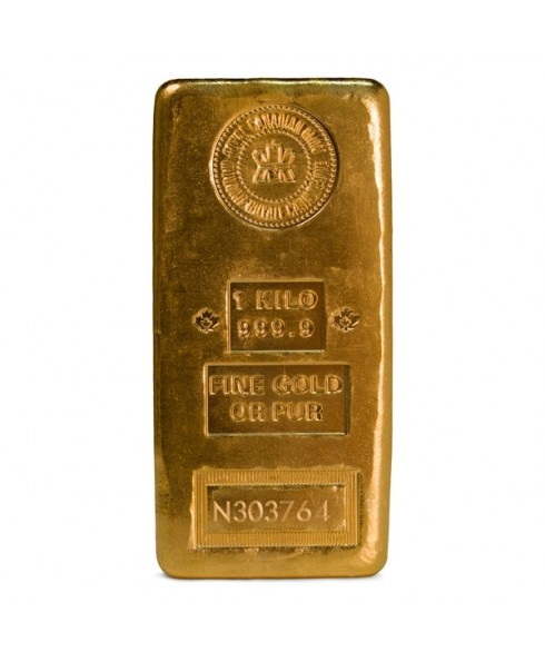 Royal Canadian Mint 1 Kilo Gold Bar