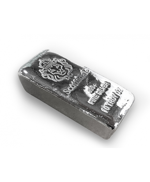 Scottsdale Chunky 10 oz Silver Bar