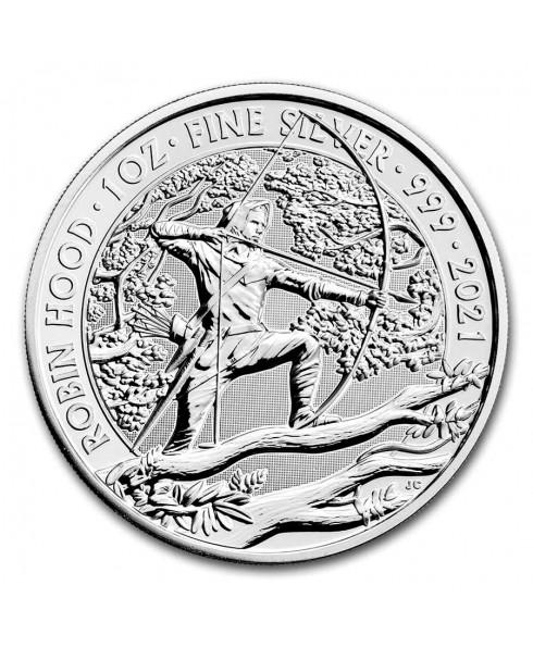 Myths and Legends - Robin Hood 1 oz Silver Coin