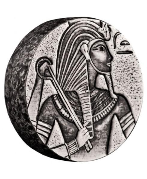 2016 Egyptian Relic Series - King Tut 5 oz Silver Coin