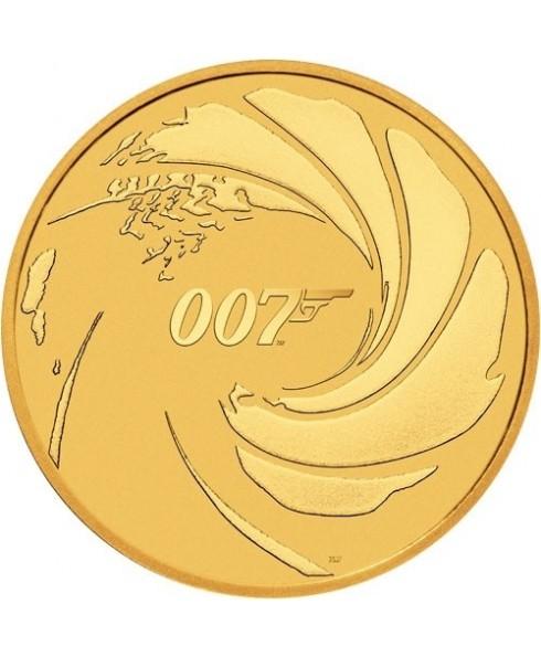 Perth Mint James Bond 007 1 oz Gold Coin 2020