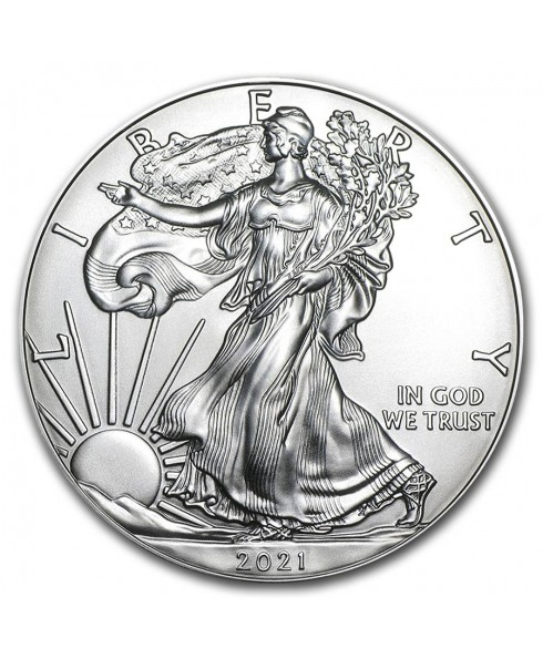 American Eagle 1 oz Silver Coin 2021