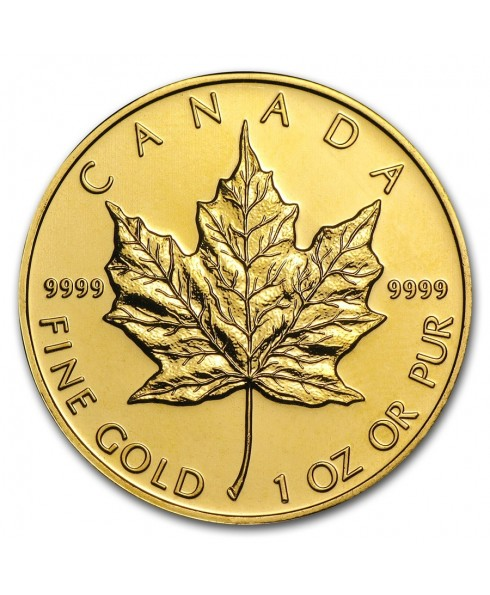 Canadian Maple Leaf 1 oz Gold Coin
