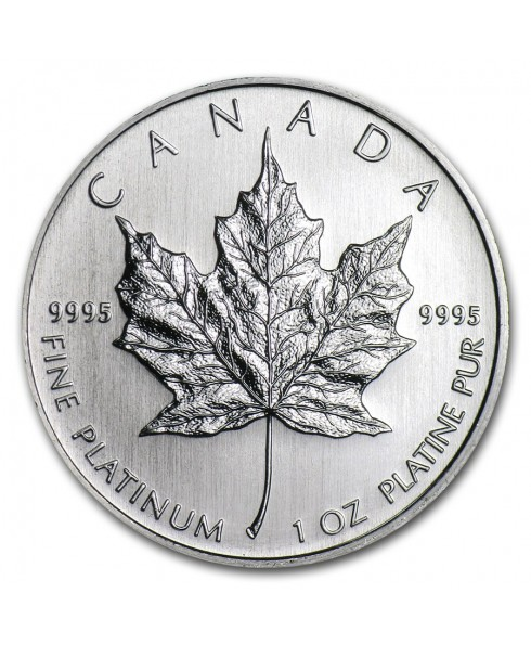Canadian Maple Leaf 1 oz Platinum Coin
