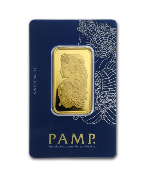 Pamp Suisse Veriscan Fortuna 1 oz Gold Bar