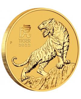 2022 Perth Mint Lunar Tiger 1 oz Gold Coin