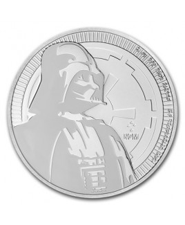 2017 Star Wars Darth Vader 1 oz Silver Niue Coin