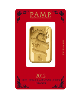 PAMP Suisse Dragon 1 oz Gold Bar