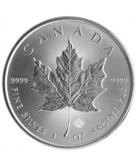 Canadian Maple Leaf 1 oz Silver Coin