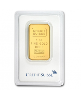 Credit Suisse 1 oz Gold Bar