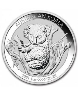 2021 Perth Mint Koala 1 oz Silver Coin