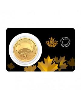 2021 RCM Klondike Gold Rush 1 oz Gold Coin