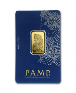 Pamp Suisse Veriscan Fortuna 10 gram Gold Bar