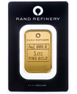 Rand Refinery Elephant 1 oz Gold Bar