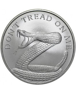Don't Tread on Me 1 oz Silver Round