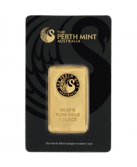Perth Mint 1 oz Gold Bar