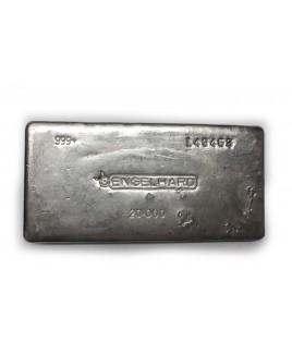 Engelhard 20 oz Silver Bar