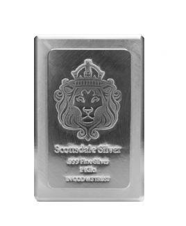 Scottsdale Stacker 1 kilo Silver Bar