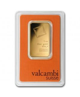 Valcambi 1 oz Gold Bar