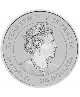 2022 Perth Mint Lunar Tiger 1 oz Platinum Coin