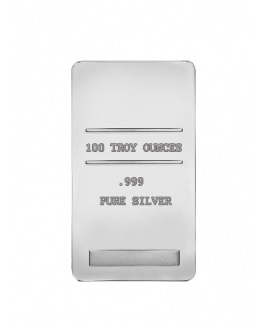 Assorted Brand 100 oz Silver Bars