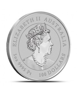 2021 Perth Mint Lunar Ox (Series III) 1 oz Platinum Coin