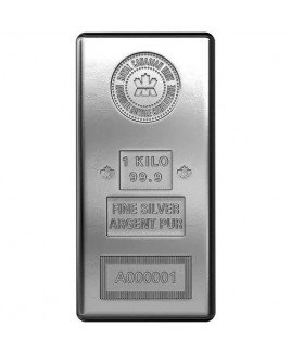 Royal Canadian Mint 1 Kilo Silver Bar