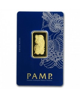 Pamp Suisse Veriscan Fortuna 1/2 oz Gold Bar