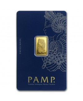 Pamp Suisse Veriscan Fortuna 2.5 gram Gold Bar