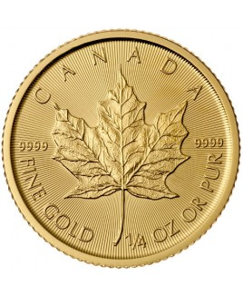 Maple Leaf 1/4 oz Gold Coin