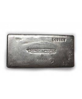Engelhard 20 oz Silver Bar