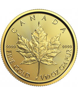 Maple Leaf 1/10 oz Gold Coin