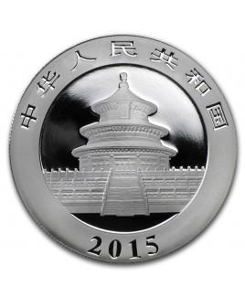 2015 Panda 1 oz Silver Coin