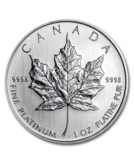 Royal Canadian Mint 1 oz Platinum Coin