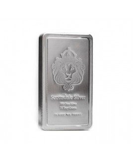 Scottsdale Stacker 10 oz Silver Bar